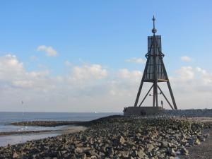 Schiffsradar Cuxhaven Kugelbake